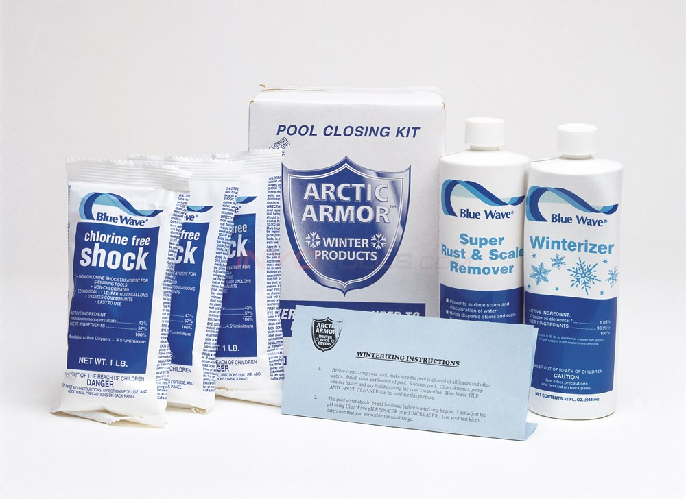 Blue Wave 30,000 Gal. Winterizing Kit w/ Chlor-Free Shock - NY938