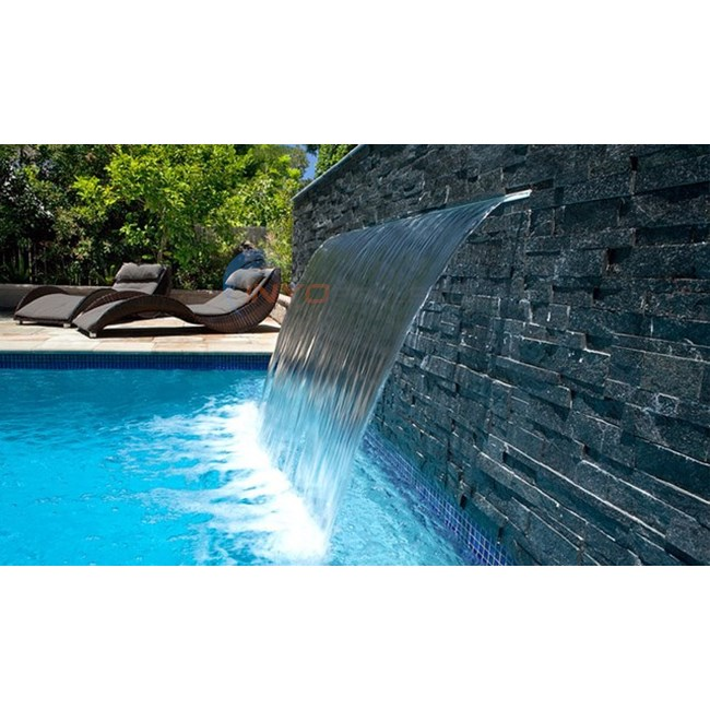 "Oasis Waterfalls 72"" Oasis Original Waterfall with 12"" lip - OAWF72EL12"