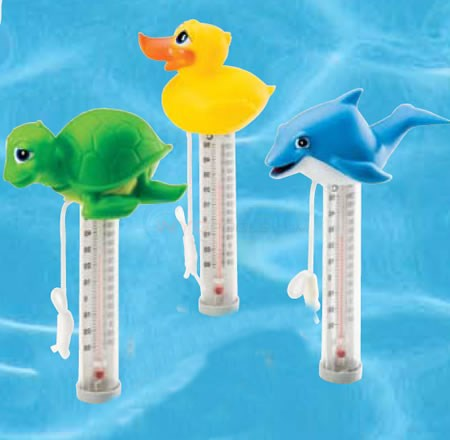 Ocean Blue Floating Happy Animal Thermometer (Single) - OBW150059