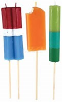 Candle, IcePop Mini Torches, 3Pk - P02515