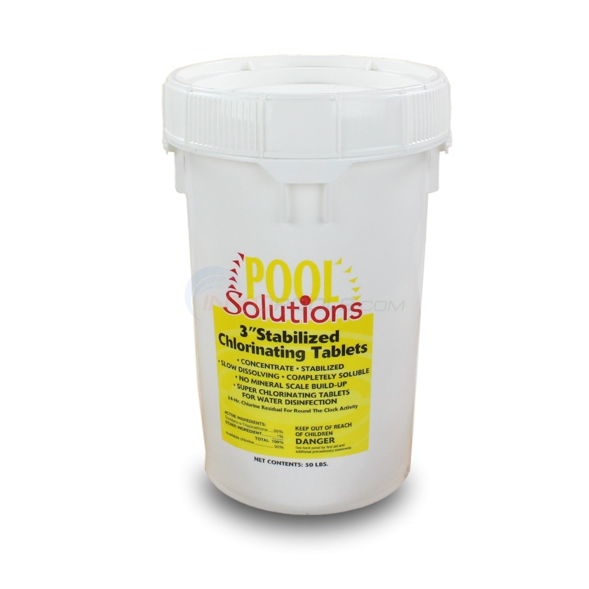 3 inch Chlorine Tablets 50 lb. Bucket