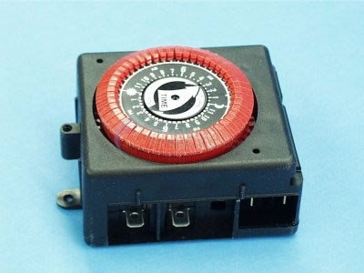 Time Clock, 24 HR,120V, Intermatic - PB813-RED
