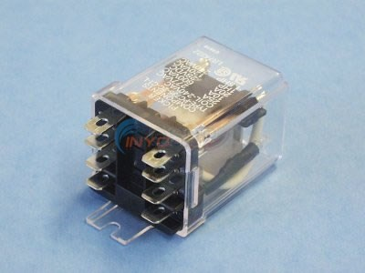 Relay, DPDT, 30A, 240V - PC-25-4-240VAC