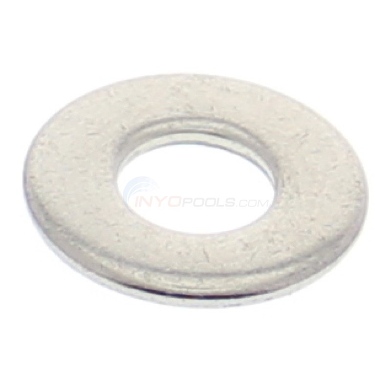 "WASHER, FLANGE BOLT 1/4"" SS, E90"