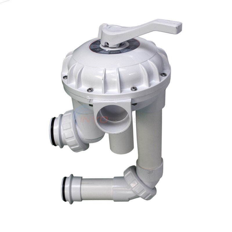 "2"" High Flow Multiport Valve w/ Plumbing for Triton & Quad DE Filters"