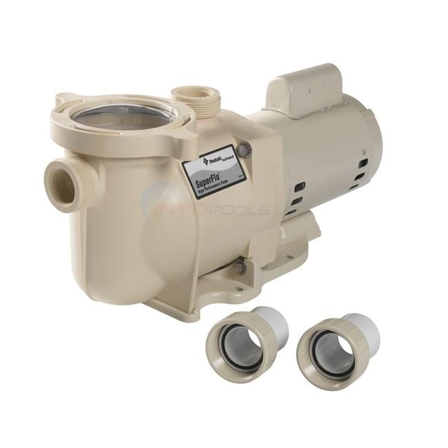 SuperFlo 1.5 HP Single Sd Pump - 340039 on