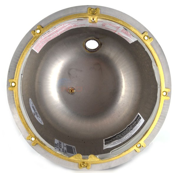 "Pentair Stainless Steel 1"" Top Hub Pool Niche for Concrete Pools - 78210500"