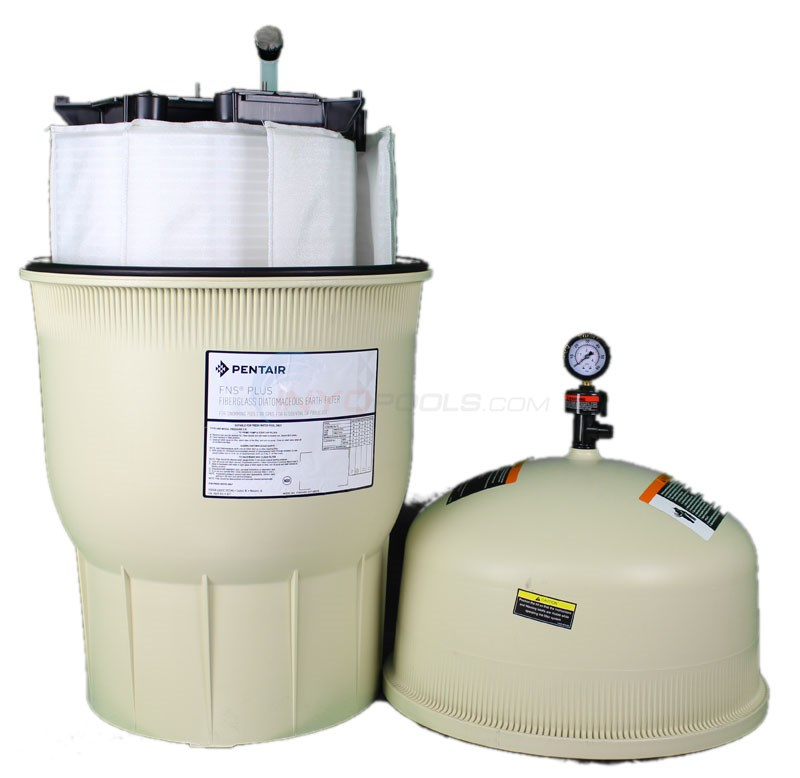 Pentair FNS Plus 24 Sq Ft Filter w/o Valve - 180006