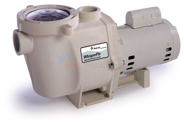 Pentair Whisperflo Pump Energy Effic 1 1/2 HP Up-Rated - WFE-26