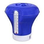 Floating Pool Chlorinator w/ Thermometer