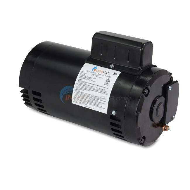 PureLine 2 HP Round Flange 56J Up Rate Motor - PL2230