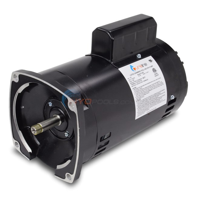 PureLine 1 HP Square Flange 56Y Up Rate Motor - PL2853