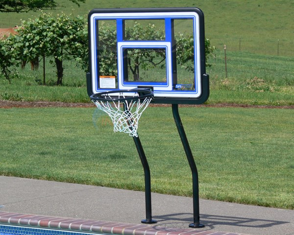S.R. Smith Salt Pool Friendly Swim-N-Dunk Basketball W/ Anchors - SBASK44
