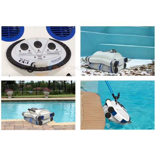 Water Tech Pool Blaster CX-1 Cordless Robotic Pool Cleaner - CX1
