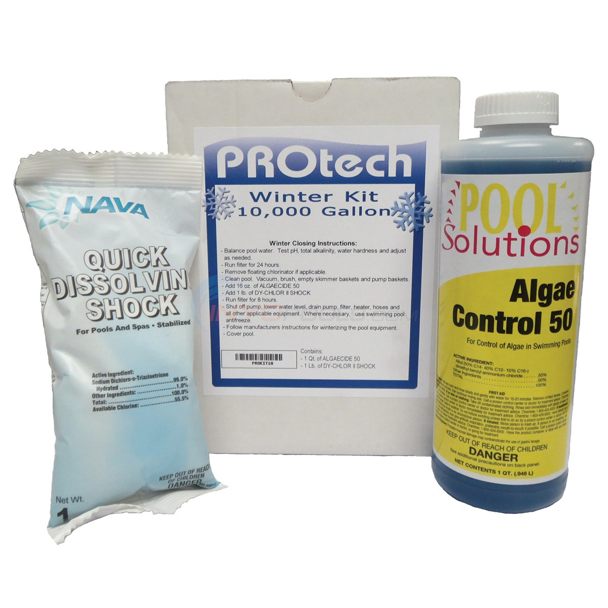 10,000 Gal. Winterizing Kit with Burst