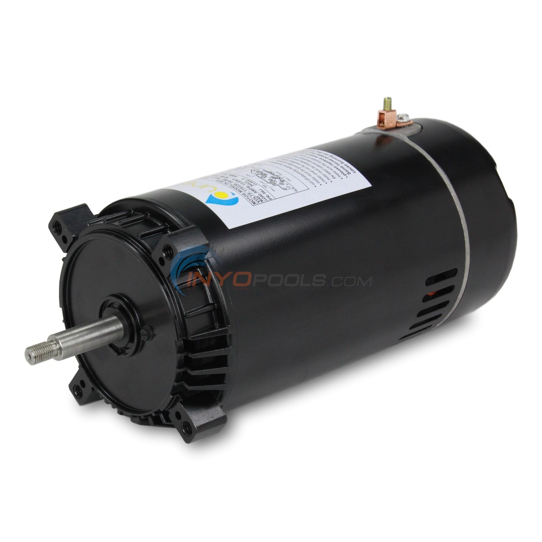 Pool Pump Motor Sp1610z1m Diagram House Wiring Symbols Emerson Pureline 1 5 Hp Round Flange 56j Pl1152 Inyopools Com Rh Ao Smith Motors
