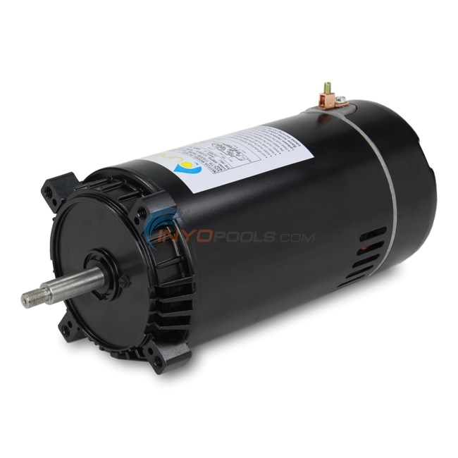 PureLine 3/4 HP Round Flange 56J Up Rate Motor - PL1072