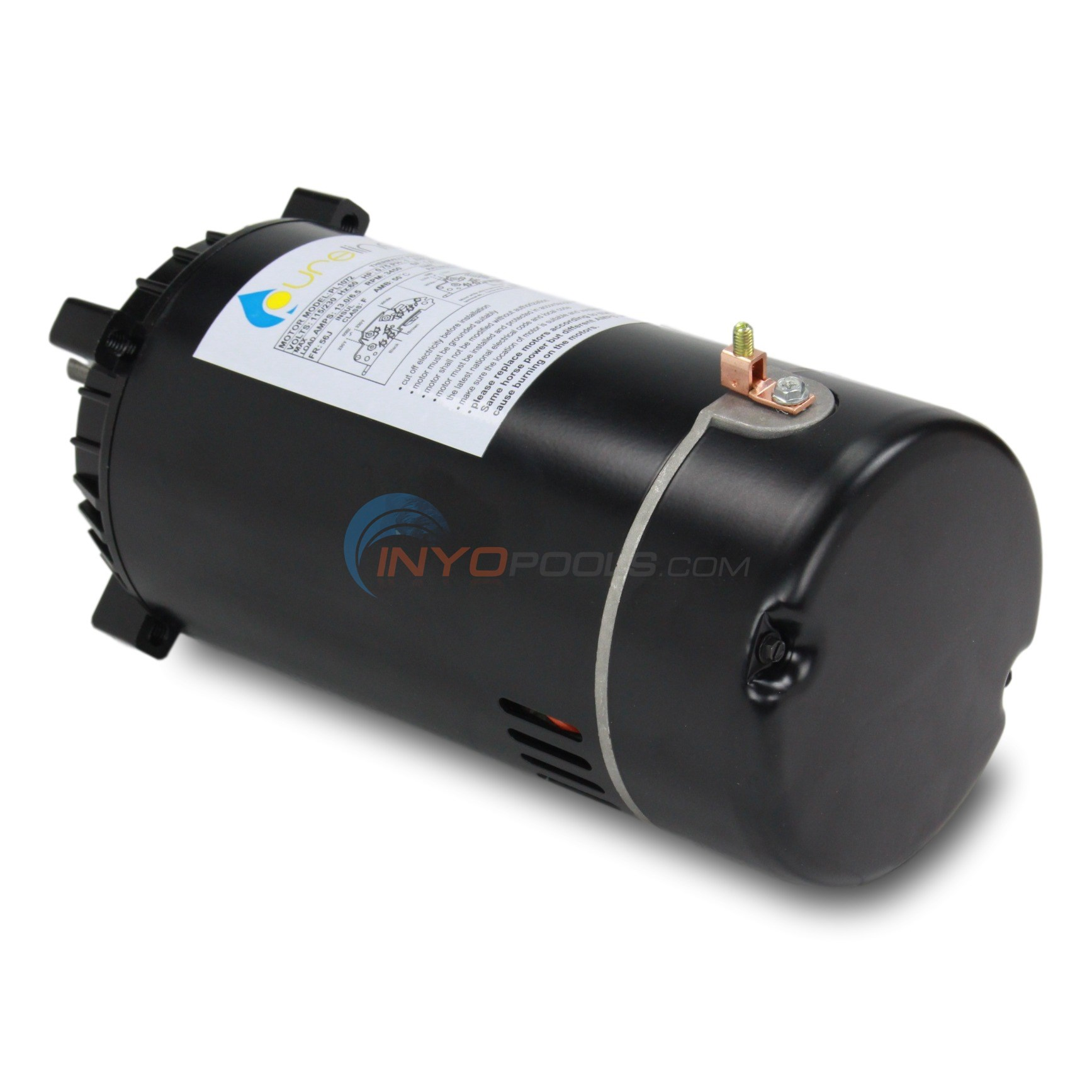 PureLine 3/4 HP Round Flange 56J Up Rate Motor (Pre-Order Shipping June 1st, 2019) - PL1072