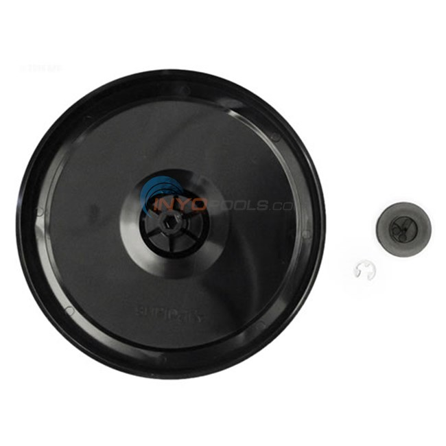 Zodiac POLARIS 9-100-1117 BLACK SINGLE SIDED WHEEL FOR 360 / 380 CLEANERS