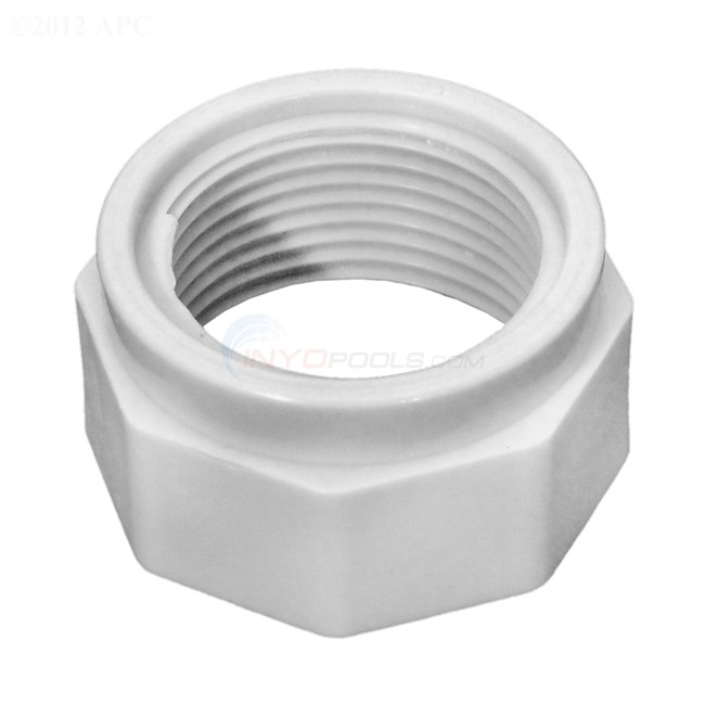 Polaris Feed Hose Nut, White - D15
