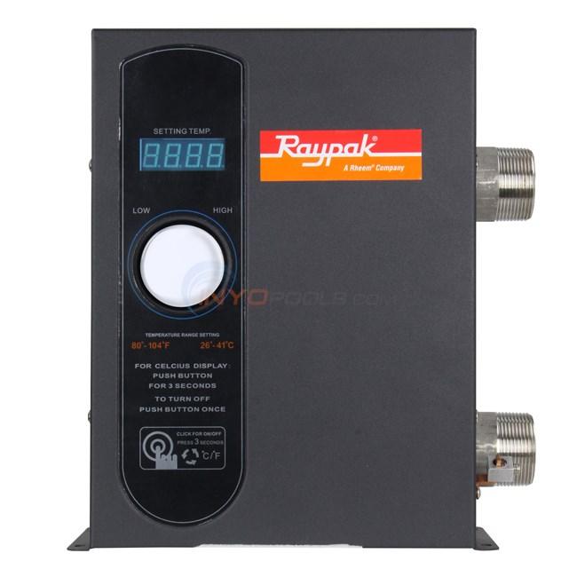 Raypak E3t Electric Digital 18kw Pool Spa Heater 017123