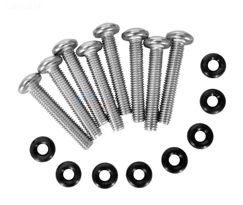 Clamp Screw Kit (8 screws/retainers)
