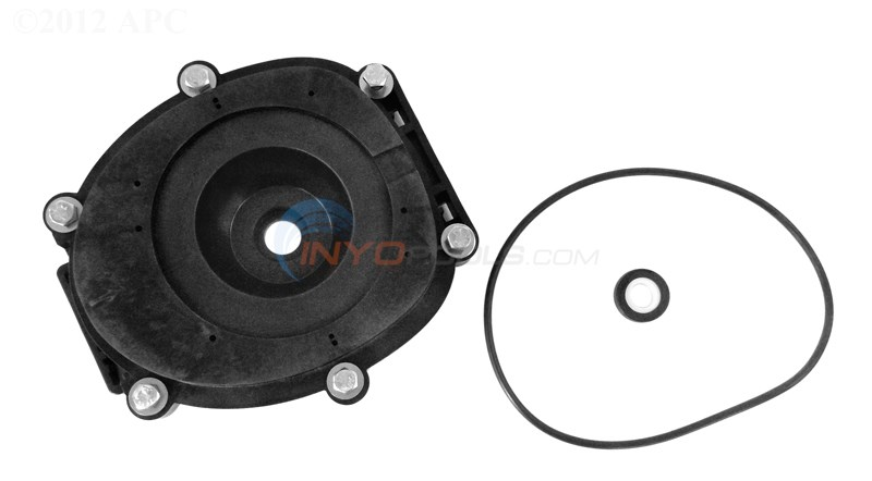 Zodiac Backplate With O-ring And Shaft Seal (r0479500)