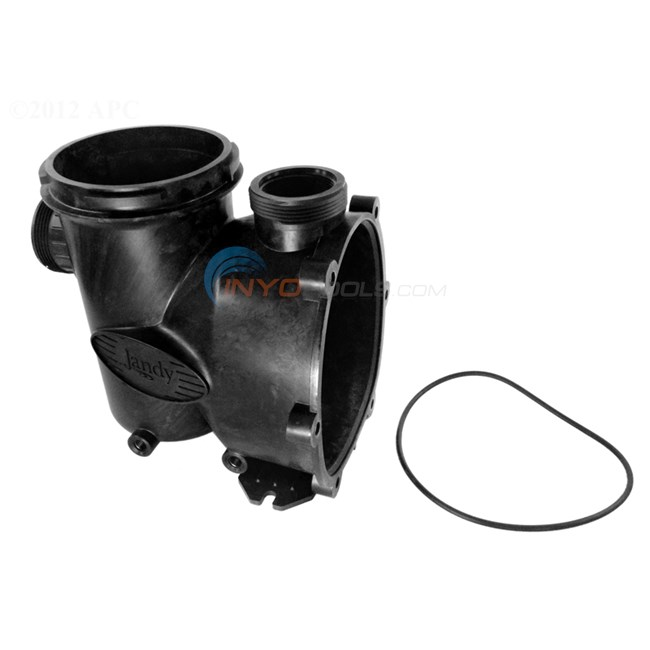 Zodiac pump body with backplate o ring r0479800 for Jandy pool pump motor replacement