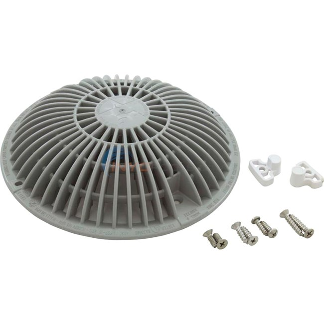 "AquaStar MoFlow 8"" Retrofit Main Drain - Light Gray - R8MF103"