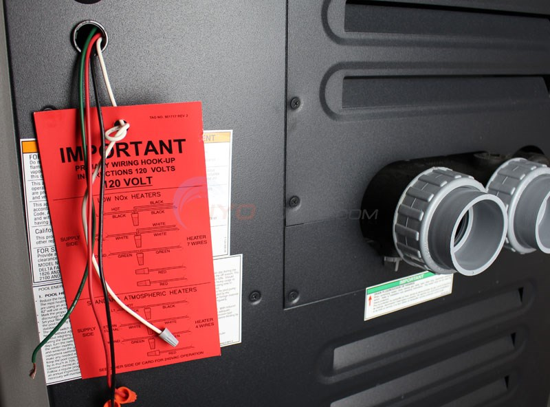Raypak 014940 336000 BTU Digital Natural Gas Pool Heater with ...