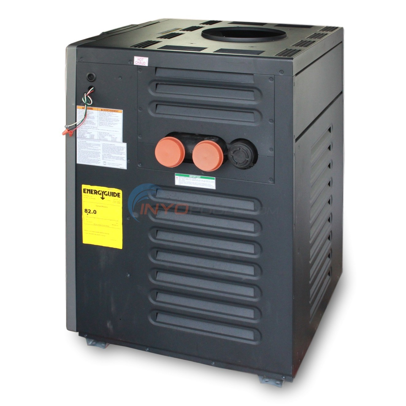 Raypak Pool Heater 206000 BTU NG MV - PR206AMN