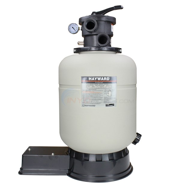 "Hayward Sand Filter with Top Mount Valve 16"" Tank - S166T"