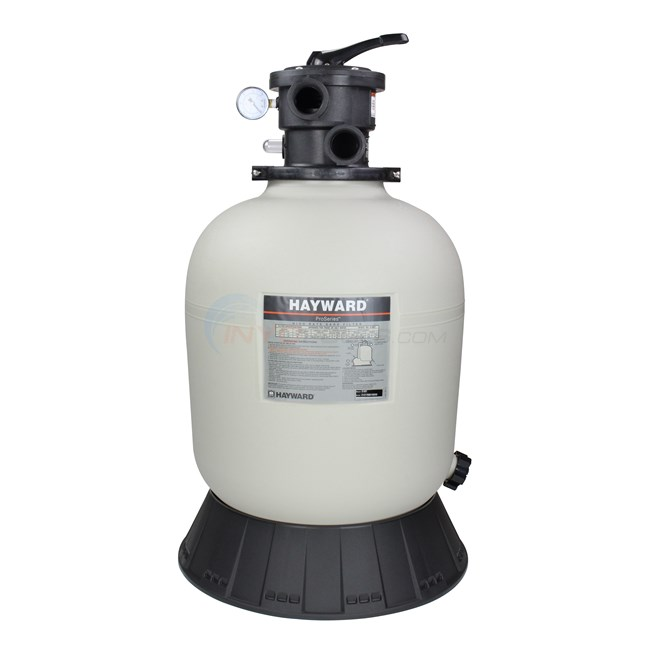 "Hayward Sand Filter with Top Mount Valve 18"" Tank - W3S180T"