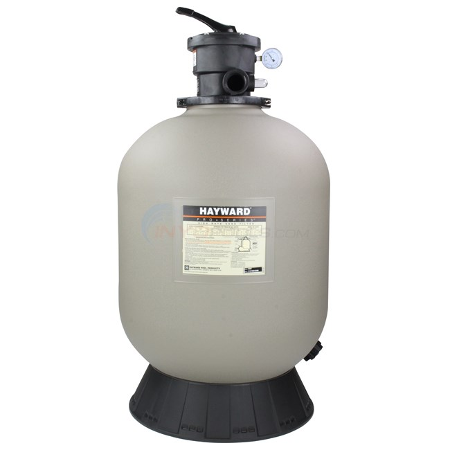 Hayward Sand Filter with Top Mount Valve 22 Inch Tank - W3S220T