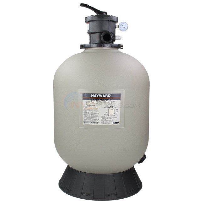 Hayward Sand Filter with Top Mount Valve 24 Inch Tank - W3S244T