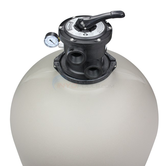 Hayward Sand Filter with Top Mount Valve 27 Inch Tank - W3S270T