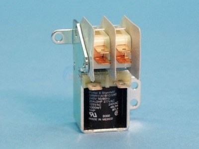 Relay, DPDT, 240V,20A, P/B - S86R11-240