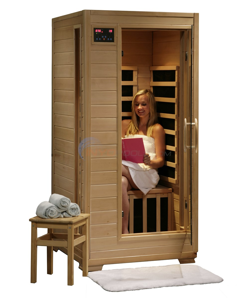 Blue Wave Buena Vista - 1 Person Carbon Infrared Sauna - SA2402