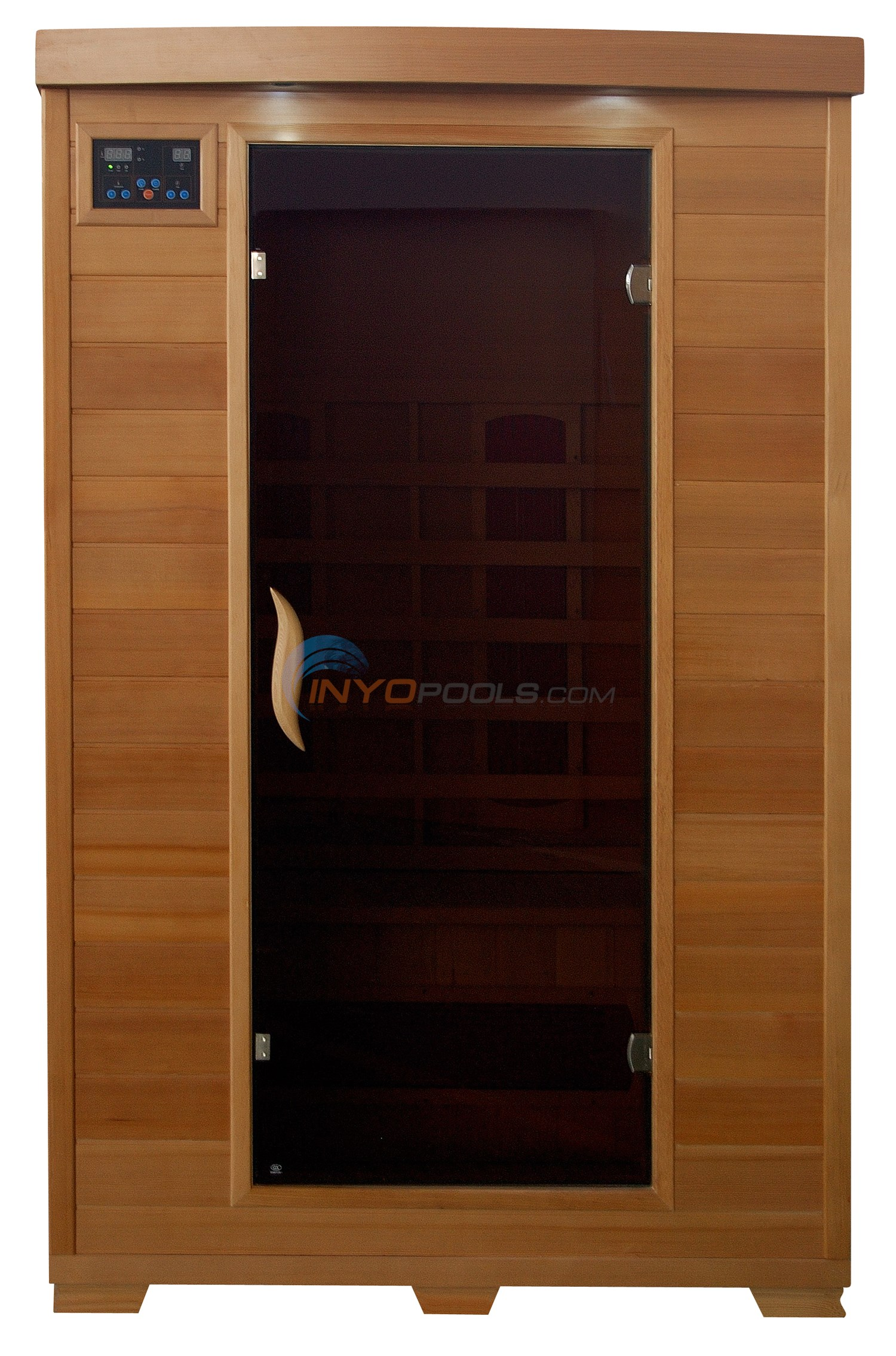 Blue Wave Coronado - 2 Person Ceramic Infrared Sauna - SA2406