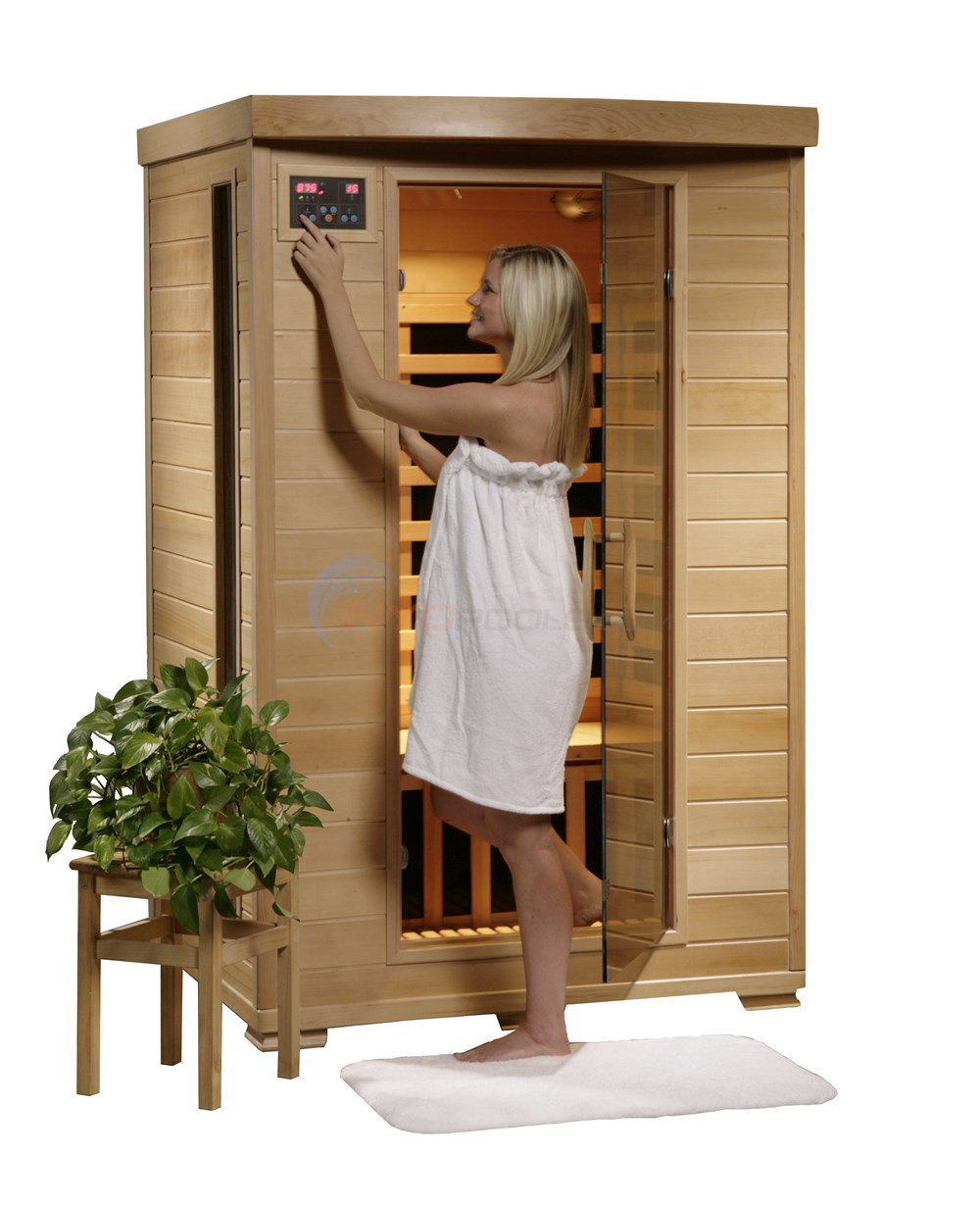 Blue Wave Coronado - 2 Person Carbon Infrared Sauna - SA2409