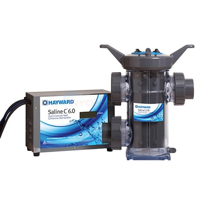 Hayward commercial saline c 6 0 chlorine generator - Hayward pool equipment ...
