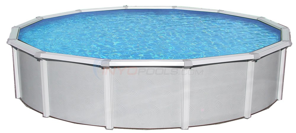 "18' x 33' Oval 52"" Samoan Above Ground Pool W/ Pump, Filter, Liner & Skimmer - NB1650P"