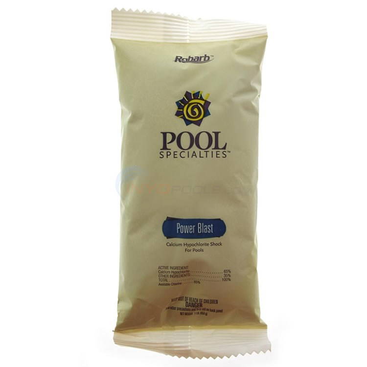 Pool Shock Power Blast (68% Cal Hypo) 6x1 Lb Bag - R20841-6
