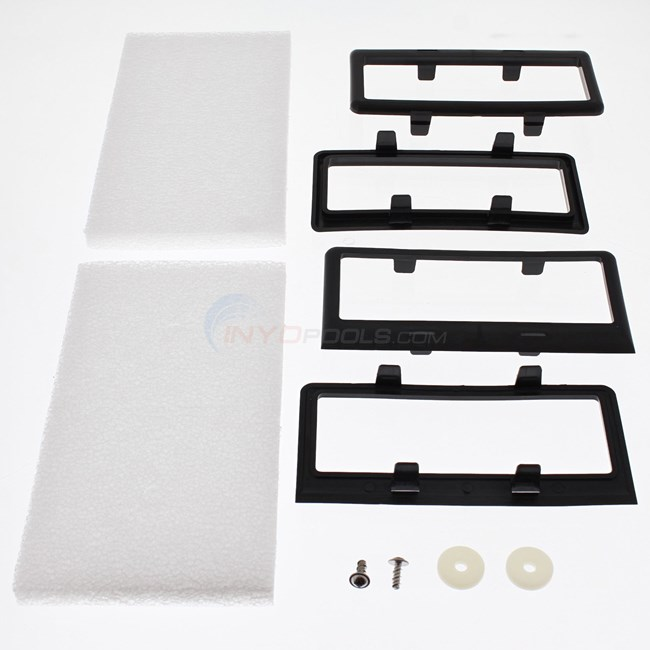 Aqua Products SPARE PARTS KIT, BOTTOM LID W/ROLLERS; (EA/1/1) - SPK9600