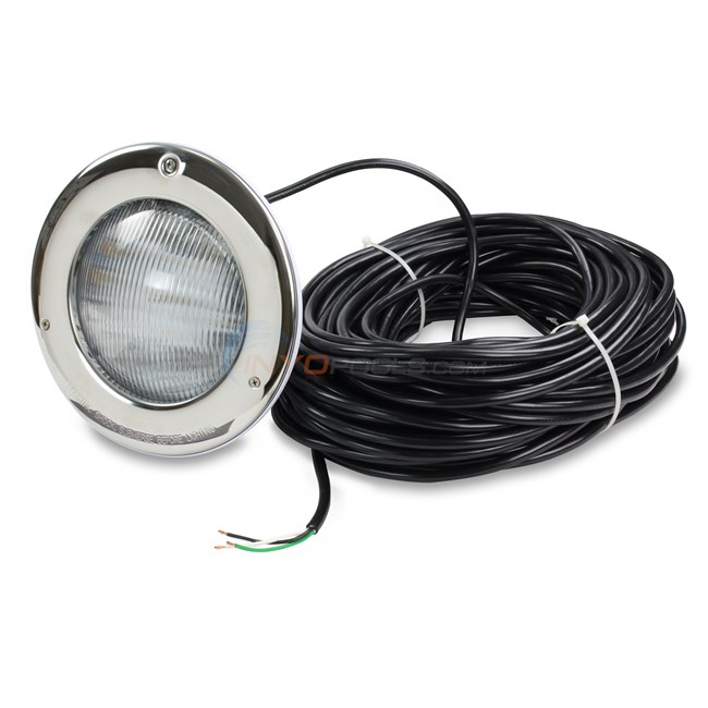 Hayward ColorLogic Light 120v 100 Ft. Cord w/ Stainless Steel Face Ring Gen. 4.0 - W3SP0527SLED100