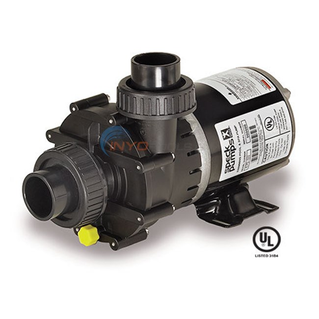 Speck E75 1 HP Two Speed Spa Pump (E75-II-2) - 2075133049
