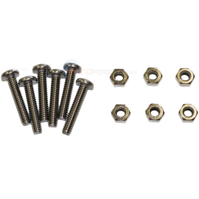 Hayward Screw And Nut (set Of 6) (6 Each 4700-13n,4700-13s) - SPX0710Z1A