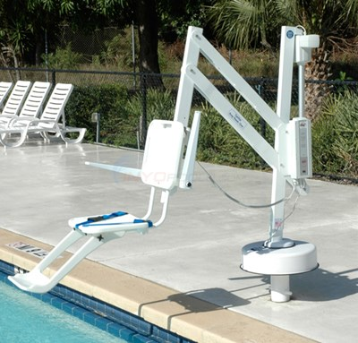 S.R. Smith Splash Extended Reach Hi/Lo Pool Lift - 385-0000