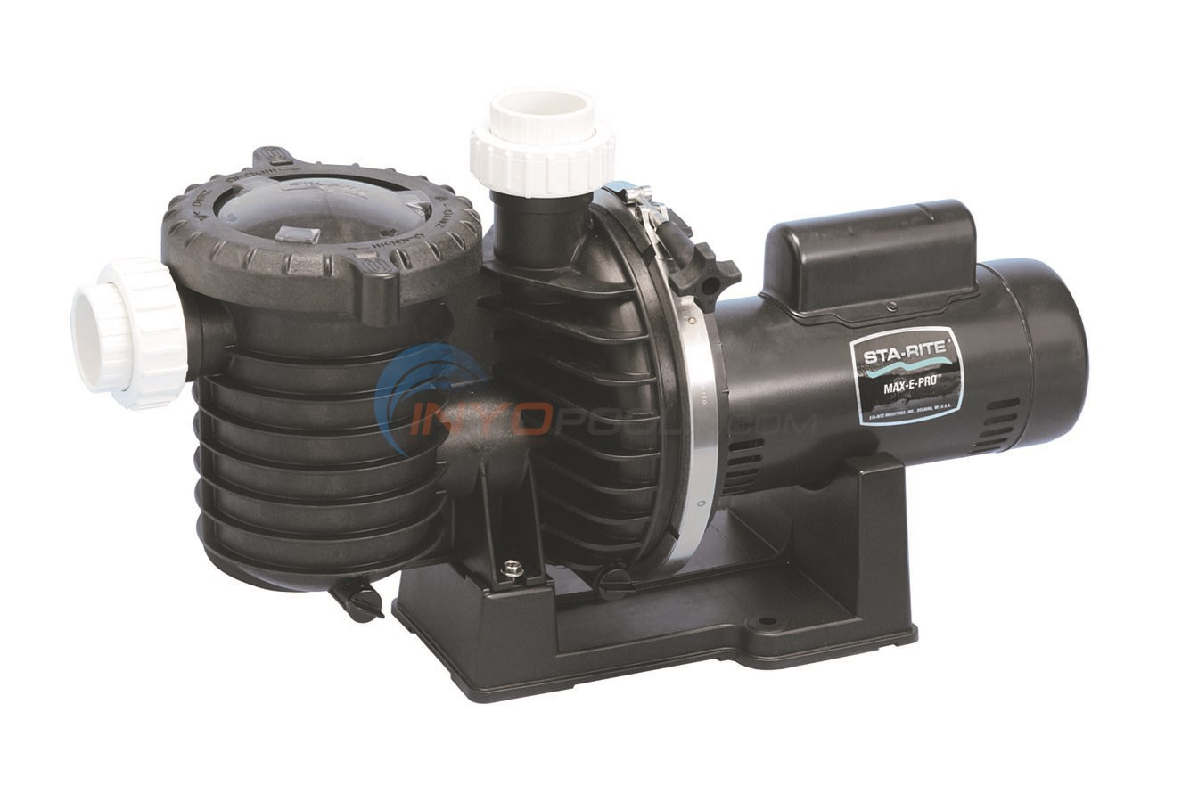 Sta-Rite Max-E-Pro 1 1/2 HP Up Rate Energy Efficient - P6EA6F-206L