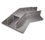 Stegmier Adjustable Paver Drain 45? Fitting Case Gray 4/cs - PD4G-4